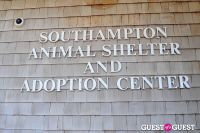 Jean Shafiroff and Dog Trainer Bill Grimmer Visit Southampton Animal Shelter #18