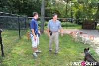 Jean Shafiroff and Dog Trainer Bill Grimmer Visit Southampton Animal Shelter #26