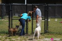 Jean Shafiroff and Dog Trainer Bill Grimmer Visit Southampton Animal Shelter #32