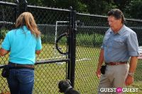 Jean Shafiroff and Dog Trainer Bill Grimmer Visit Southampton Animal Shelter #35
