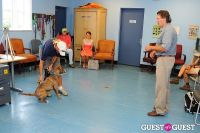 Jean Shafiroff and Dog Trainer Bill Grimmer Visit Southampton Animal Shelter #122