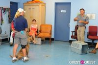 Jean Shafiroff and Dog Trainer Bill Grimmer Visit Southampton Animal Shelter #125