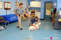 Jean Shafiroff and Dog Trainer Bill Grimmer Visit Southampton Animal Shelter #137