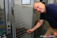 Jean Shafiroff and Dog Trainer Bill Grimmer Visit Southampton Animal Shelter #217
