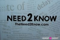 TheNeed2Know.com's ONE Year Anniversary #1