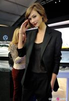 Supermodel Karlie Kloss at Mercedes-Benz - NYFW #8