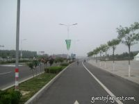 Empty Beijing Roads Before Olympics #7