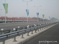 Empty Beijing Roads Before Olympics #9