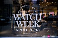 Porsche Design Madison Avenue Watch Week Reception #260