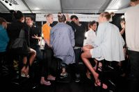 Tibi Runway Fashion Show and Backstage #76
