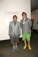 Tommy Hilfiger and Sam Haskins celebrate the launch of Fashion Etcetera #19