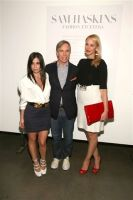 Tommy Hilfiger and Sam Haskins celebrate the launch of Fashion Etcetera #25