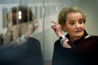 Madeleine Albright Luncheon Hosted by Tina Brown #7