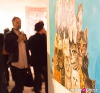 Cat Art Show Los Angeles Opening Night Party at 101/Exhibit #26
