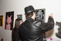 Cat Art Show Los Angeles Opening Night Party at 101/Exhibit #73
