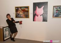 Cat Art Show Los Angeles Opening Night Party at 101/Exhibit #100