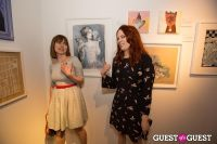 Cat Art Show Los Angeles Opening Night Party at 101/Exhibit #108