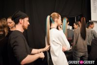 NYC Fashion Week FW 14 Herve Leger Backstage #53