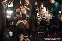 NYC Fashion Week FW 14 Herve Leger Backstage #80