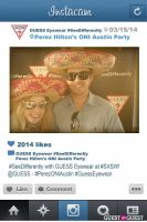 Perez ONI Austin: Guess Eyewear #SeeDifferently Photo Booth at SXSW #40