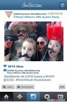 Perez ONI Austin: Guess Eyewear #SeeDifferently Photo Booth at SXSW #41