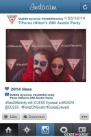 Perez ONI Austin: Guess Eyewear #SeeDifferently Photo Booth at SXSW #51