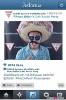 Perez ONI Austin: Guess Eyewear #SeeDifferently Photo Booth at SXSW #59