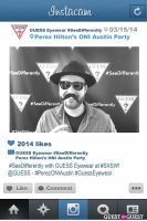 Perez ONI Austin: Guess Eyewear #SeeDifferently Photo Booth at SXSW #75