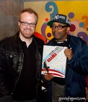 Spike Lee hosts Design for Obama Book Party #24