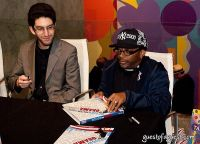 Spike Lee hosts Design for Obama Book Party #37