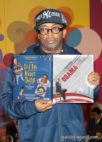 Spike Lee hosts Design for Obama Book Party #40