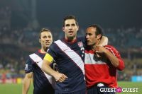 Carlos Bocanegra and team mates