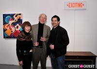 Retrospect exhibition opening at Charles Bank Gallery #29