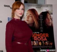 FIJI and The Peggy Siegal Company Presents Ginger & Rosa Screening  #1