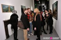 Retrospect exhibition opening at Charles Bank Gallery #22