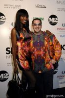 Model., Dawn Leak and Artist/designer, Noah G POP