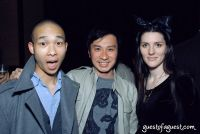 Derrick Leung, friend and Dossier co-founder Skye Parrott