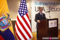ProEcuador Los Angeles Hosts Business Matchmaking USA-Ecuador 2013 #39