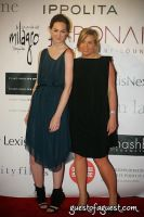 Model Eliza Wexelman and Designer Iris Loeffler