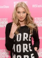 Victoria's Secret PINK model Elsa Hosk hosts live 2013 Victoria's Secret Fashion Show Viewing Party in Chicago #9