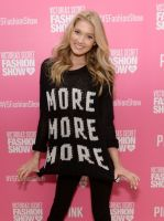 Victoria's Secret PINK model Elsa Hosk hosts live 2013 Victoria's Secret Fashion Show Viewing Party in Chicago #11