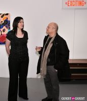 Retrospect exhibition opening at Charles Bank Gallery #139