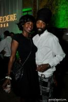 Celebrity stylist Groovey Lew (r)