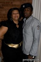 Publicist Jeanette Brown with client Rap Artist NIV