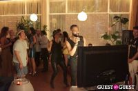 Suzy Buckley Woodward & John Lin Karaoke Night at the Standard Spa #13