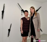 Jorinde Voigt opening reception at David Nolan Gallery #14