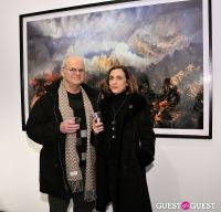 Retrospect exhibition opening at Charles Bank Gallery #100