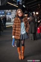 NYC Fashion Week FW 14 Street Style Day 1 #2