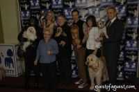 Laurie Williams and Andrew, Karen Biehl and Eli, Dr. Ruth, Rick Caran and JilliDog, Marie and Bocker the Labradoodle, Elvis and Dr. David Best