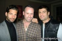 Left Lucio Salvatore, Scott Buccheit, DJ Angelos